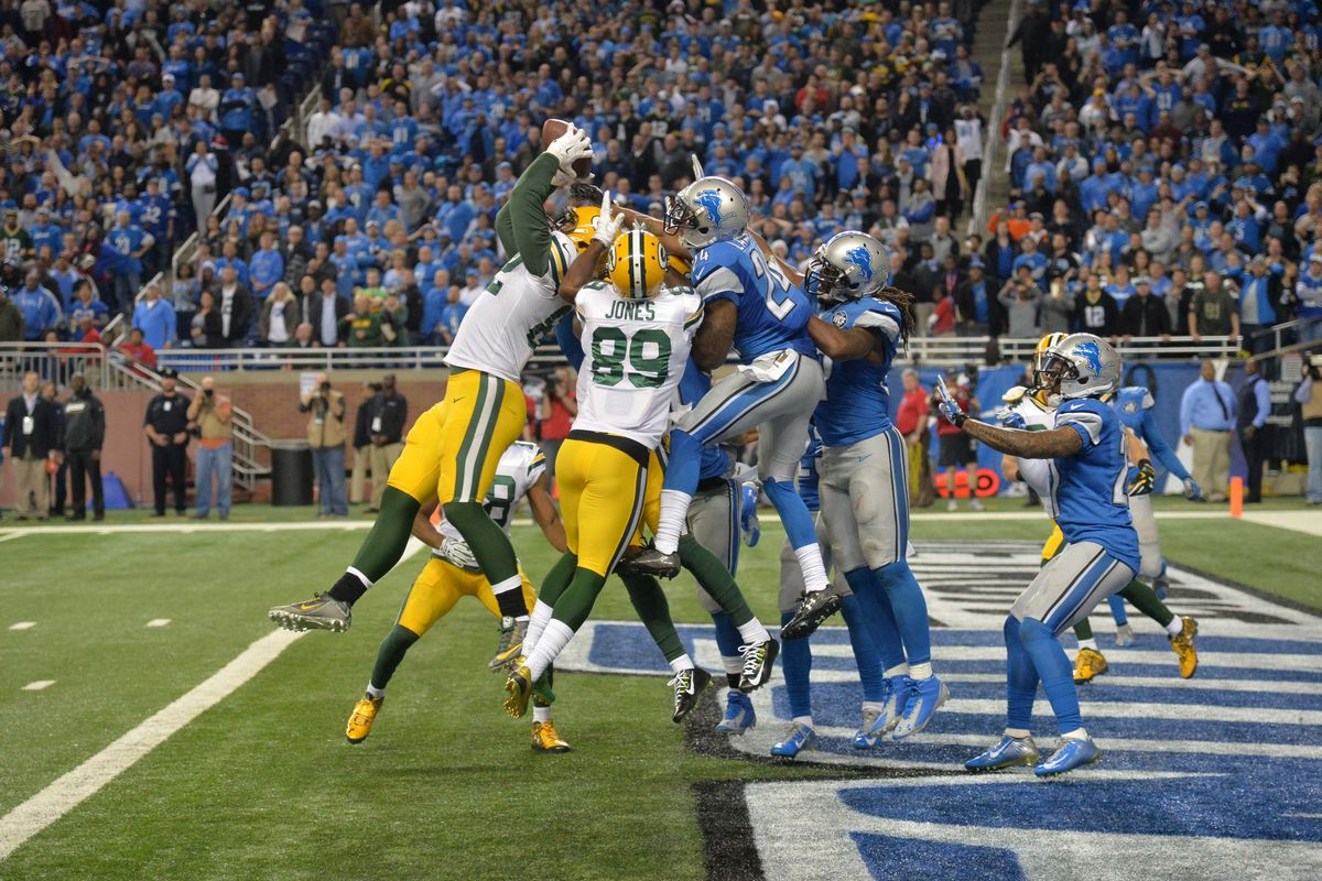 official photos 81125 77a9d Packers' Top Plays of 2015, #1: Aaron Rodgers' Hail Mary to ...