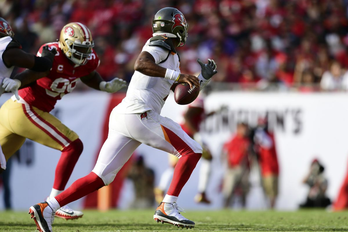 ed11238bfe5 The 49ers will open the season on the road against Tampa Bay and ...