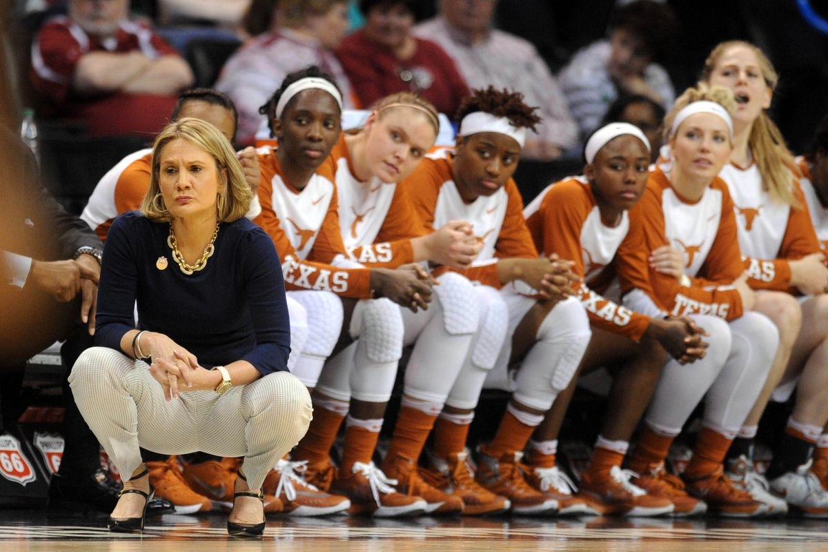 NCAA Womens Basketball: Big 12 Conference Tournament-Texas vs Kansas