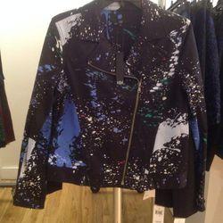 Moto jacket, $100