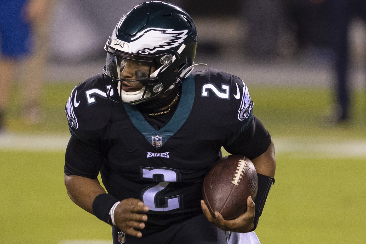 Eagles will be wearing black jerseys for Jalen Hurts' first NFL ...