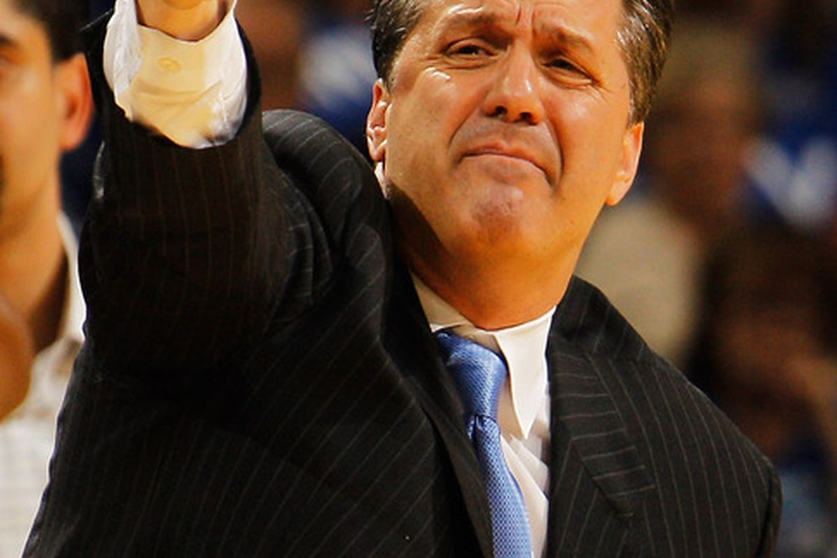 Our photo editor is a treasure trove of goofy pictures of John Calipari.