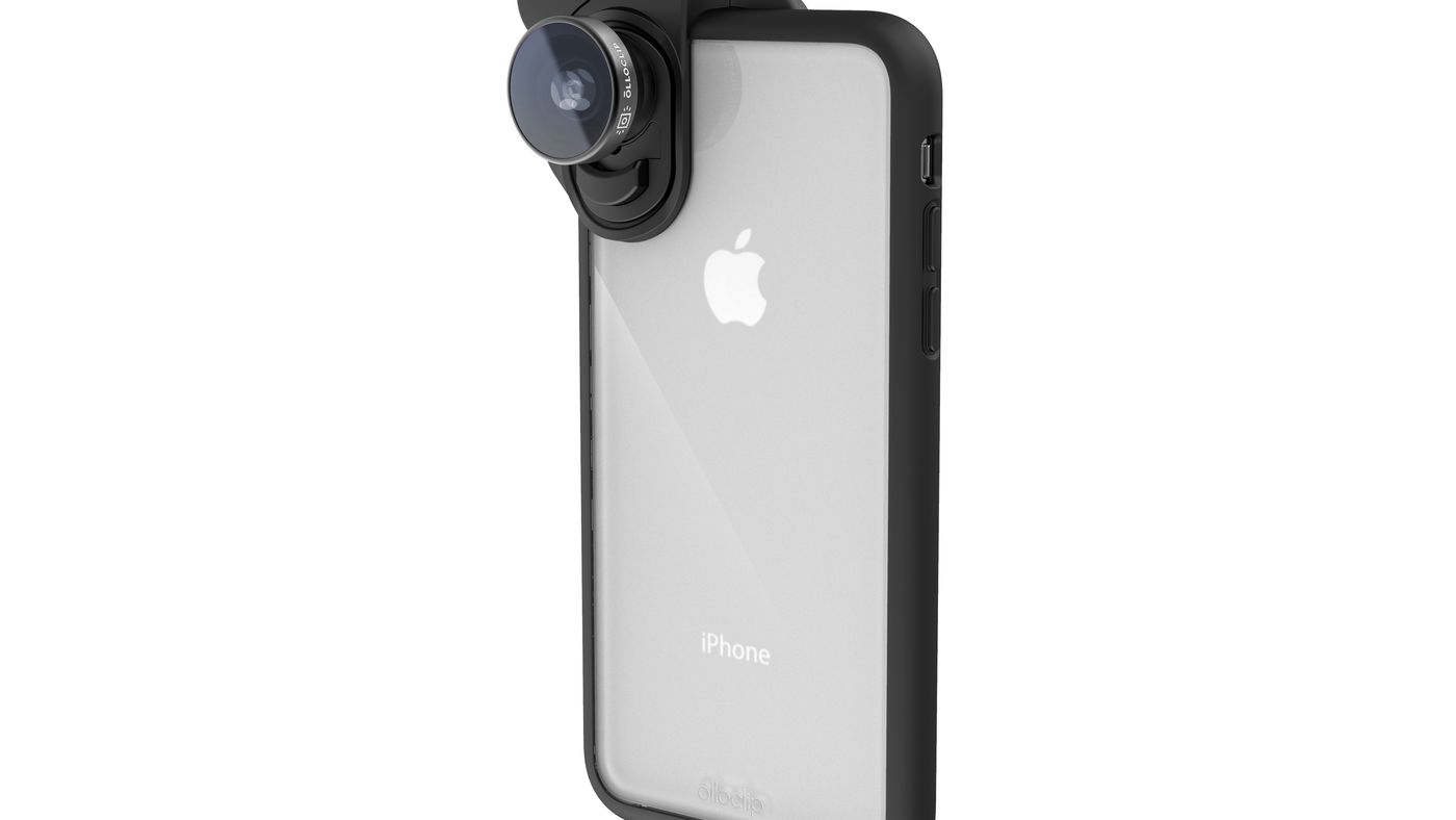 online store 3fb3d c8399 Olloclip's new camera lenses for the iPhone X don't require a ...