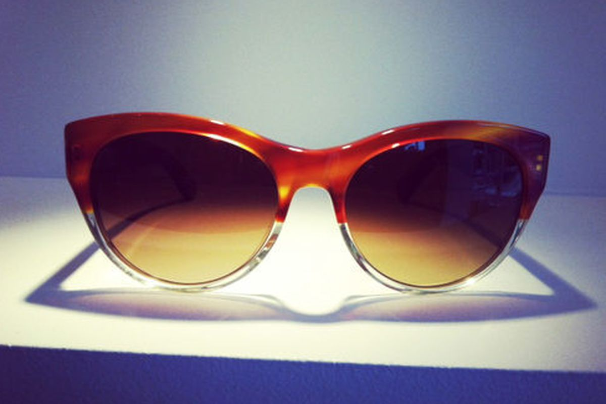 The Mande sunglasses ($325), via Oliver Peoples