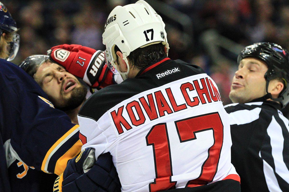 Patrick Kaleta will gladly take retaliation penalties from Ilya Kovalchuk all day long