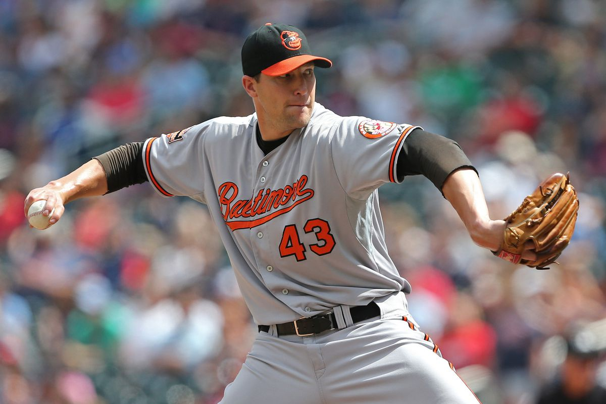 Jim Johnson. Don't sit on a straight fastball. You won't get it.