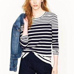 "<a href=""http://www.jcrew.com/AST/filterAsst/women_knit_filter/stripesandgraphics/PRDOVR~94996/94996.jsp"">Patricia top</a>, $85"