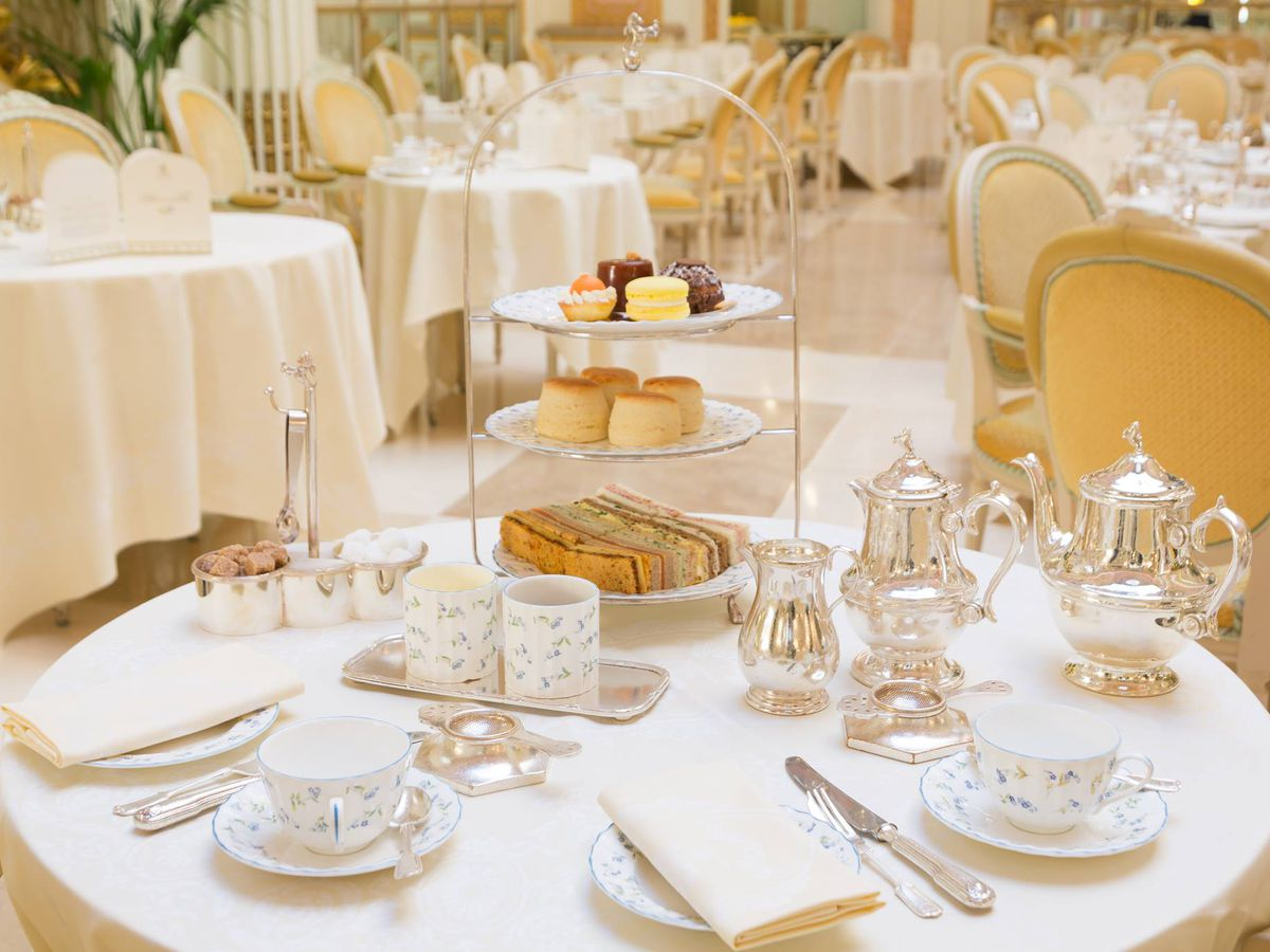Over-the-top, but some culinary wonders can be found at the Ritz restaurant on Piccadilly