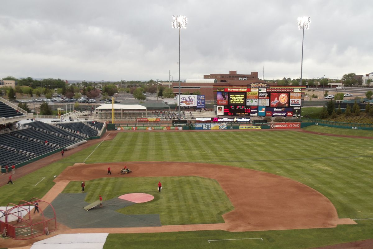 """""""The Lab"""" in Albuquerque hosted the 2011 Triple A National Championship Game"""