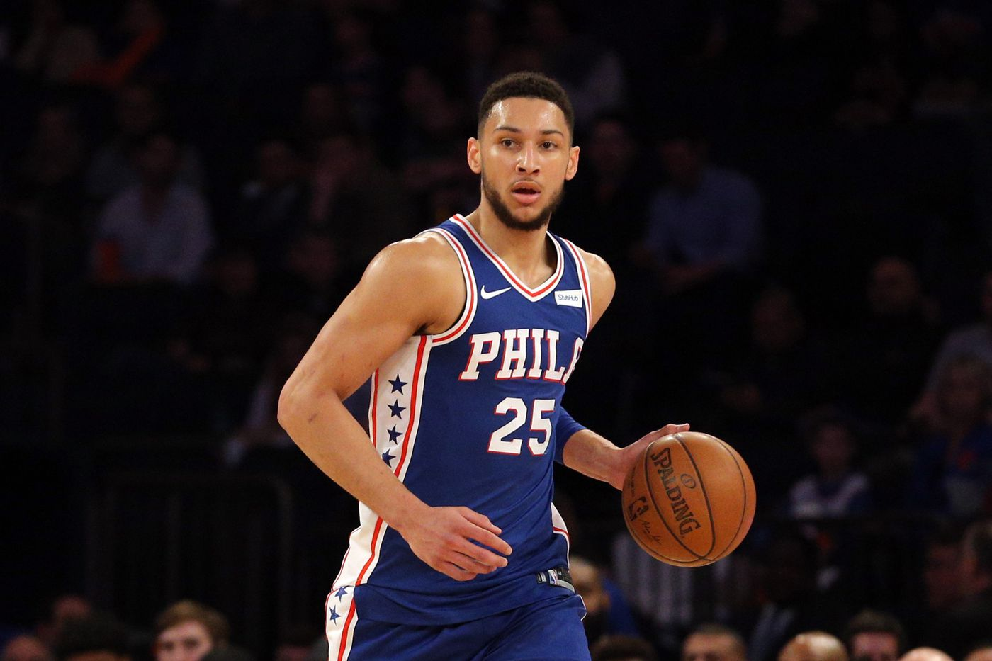 Ben Simmons passed Magic Johnson's rookie triple-double total