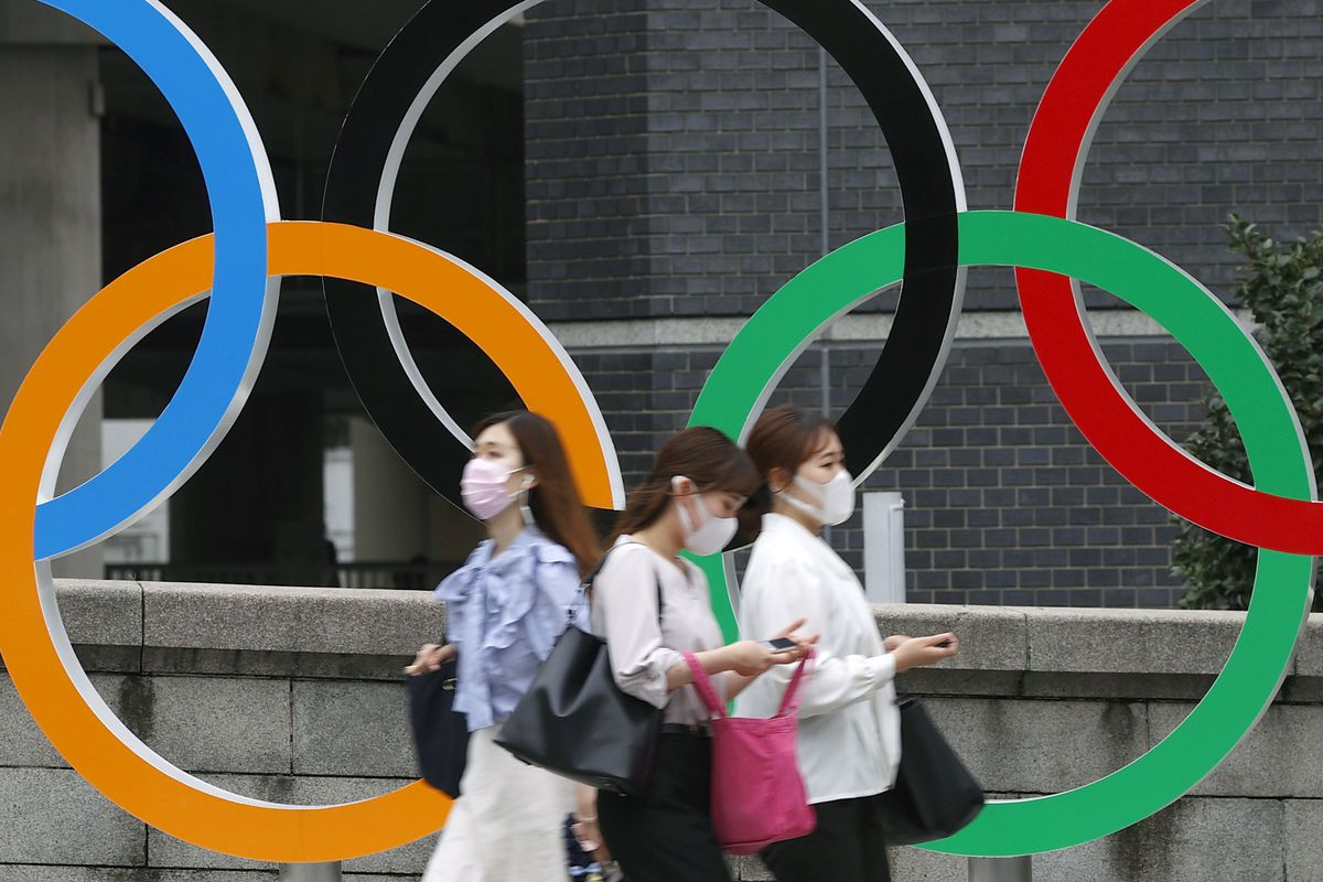 Japanese officials banned spectators from Tokyo Olympics venues after a COVID-19 state of emergency was declared.