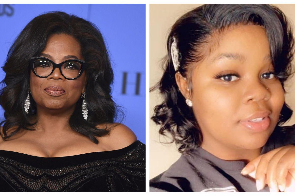 Oprah Winfrey and Breonna Taylor