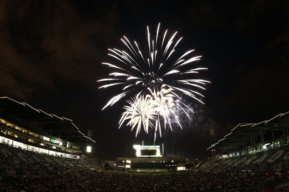 the fans get their fireworks after all