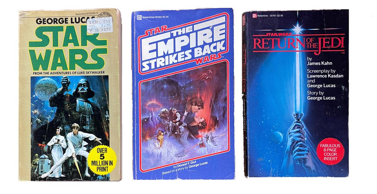 The Star Wars trilogy novelizations