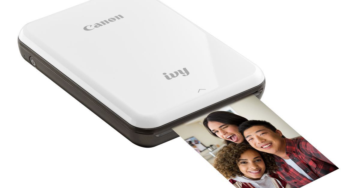 Canon's New Mobile Photo Printer is Just like all the Other Mobile Photo Printers