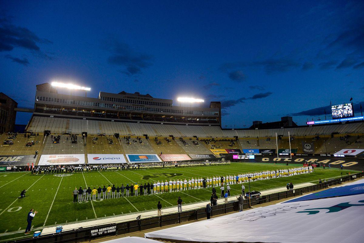 COLLEGE FOOTBALL: NOV 07 UCLA at Colorado