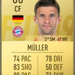 Thomas Müller in FIFA 2019