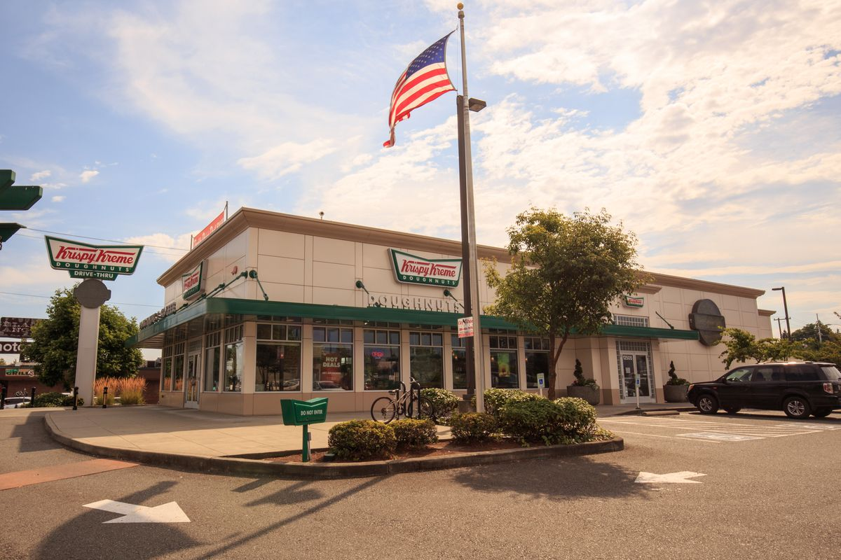 You'll have to wait a little longer for your fill of Krispy Kreme doughnuts.