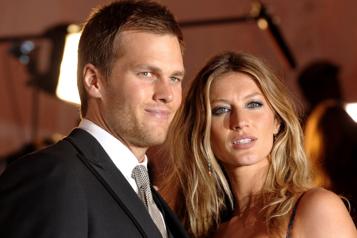 Tom Brady and Gisele Bundchen arrive at the Metropolitan Museum of Art's Costume Institute Gala in New York.