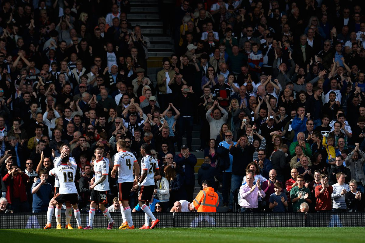 Fulham endured a dreadful 2014/15 season in the Championship. Here's to next year!