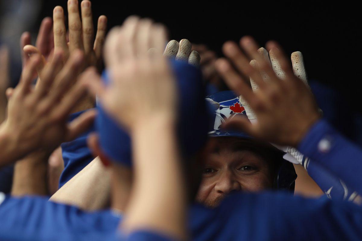Toronto Blue Jays v Texas Rangers