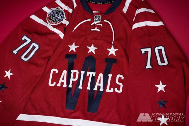 huge selection of 40451 d47ce Here is the Washington Capitals Winter Classic jersey ...