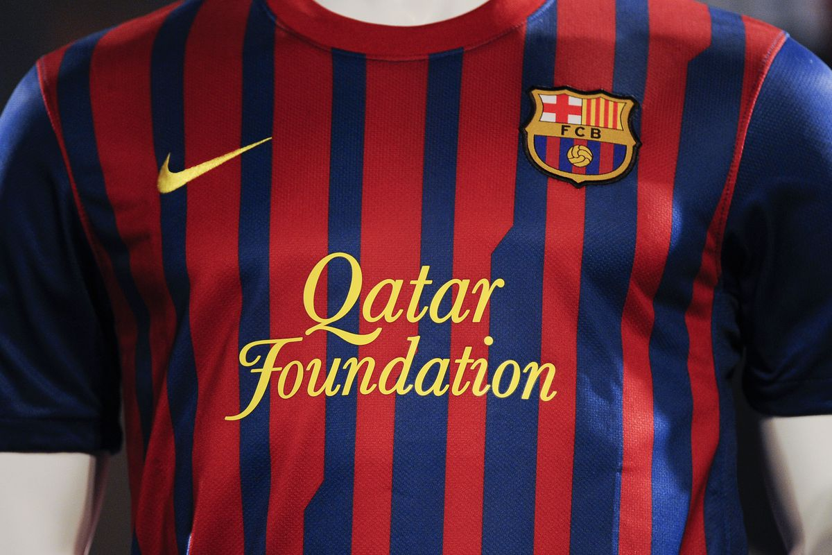 report fc barcelona to cut ties with qatar barca blaugranes report fc barcelona to cut ties with