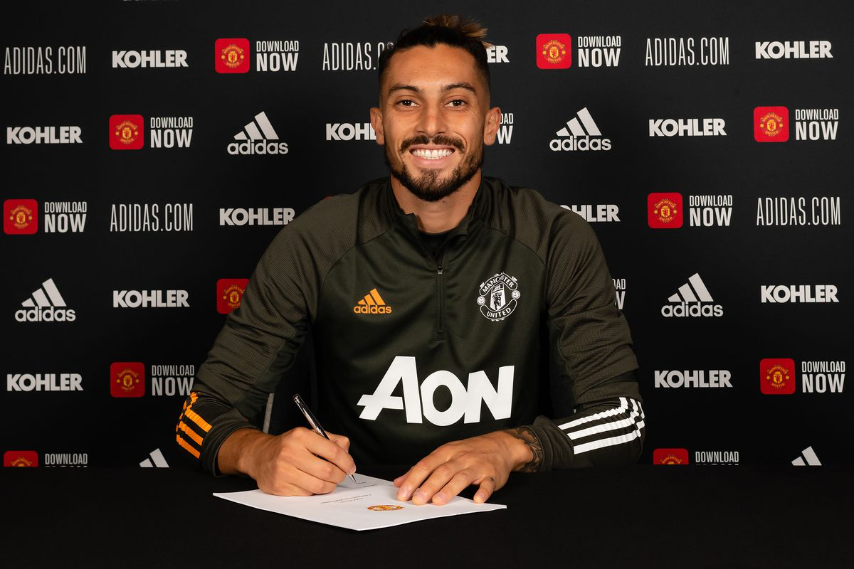 Manchester United Unveil New Signing Alex Telles