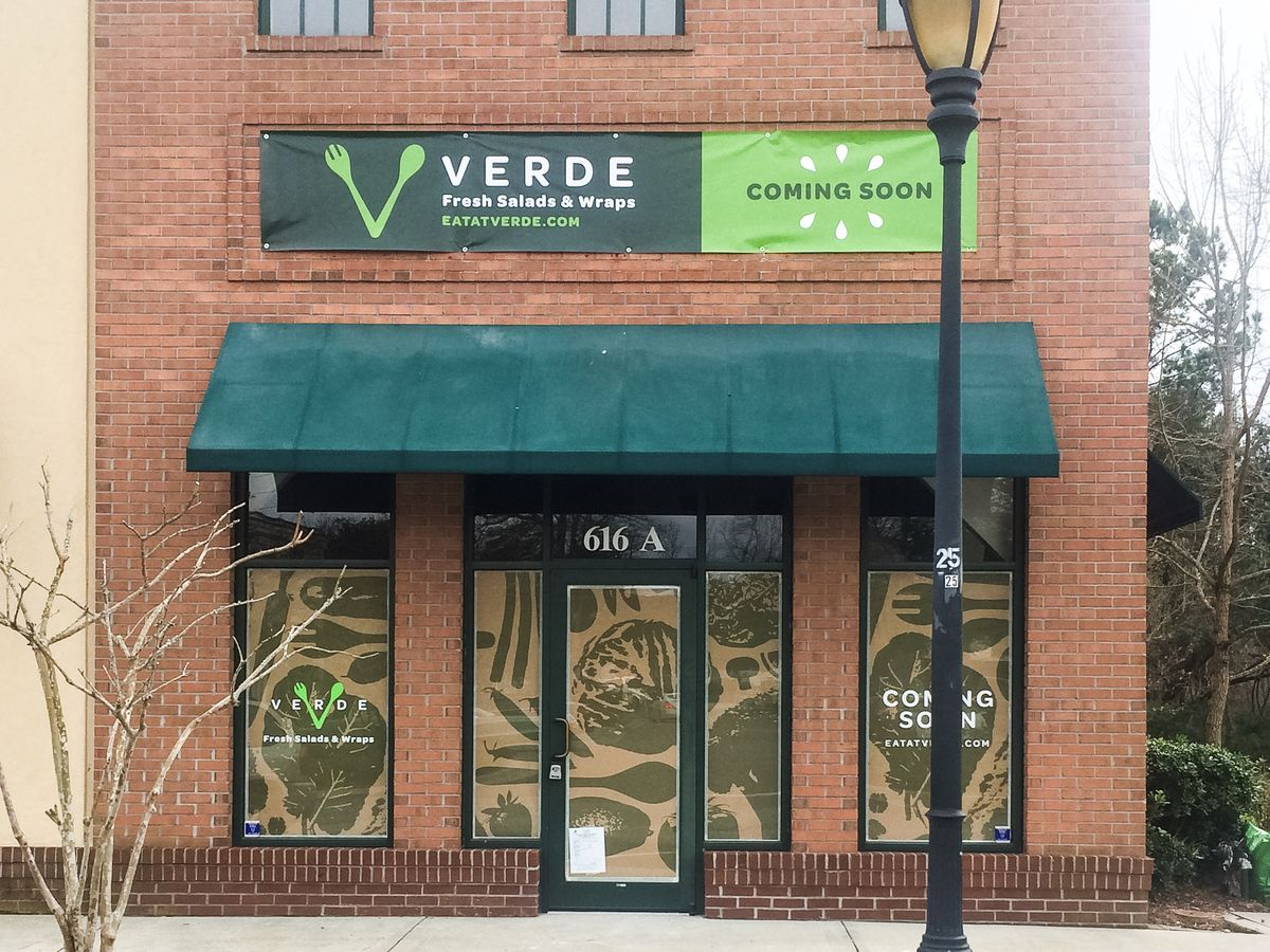 Being A Vegetarian You May Roll Your Eyes At The Thought Of Another Salad But Verde Has So Many Build It Yourself Options That Should Take While