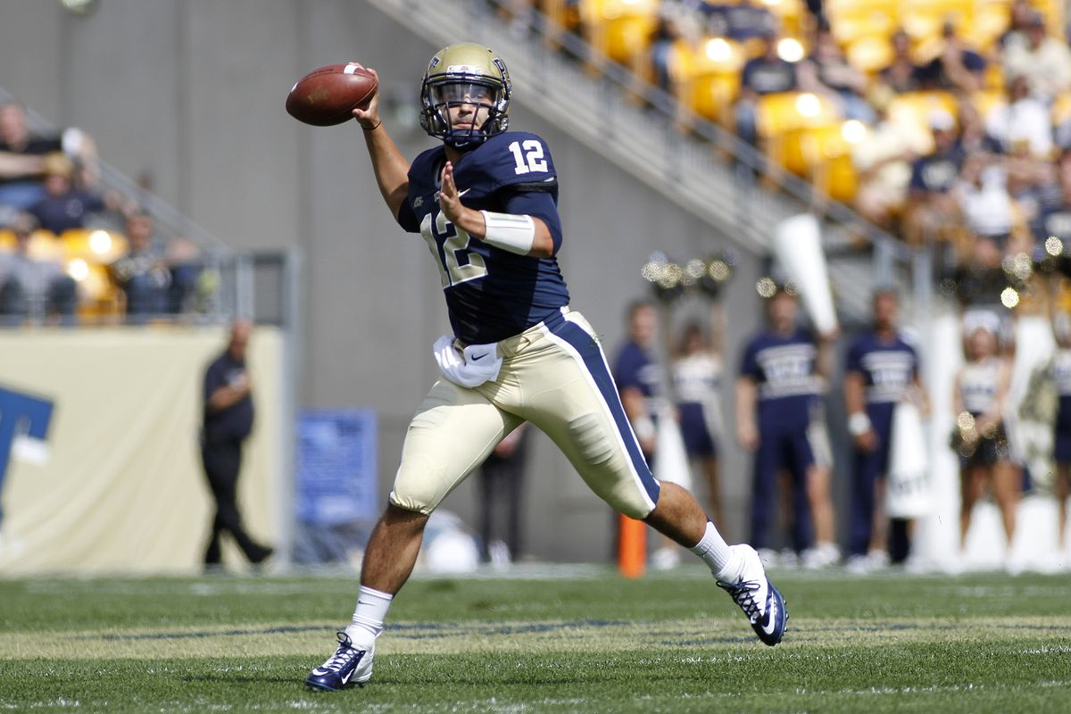 Tino Sunseri had another good game against Gardner-Webb (Photo by Justin K. Aller/Getty Images)