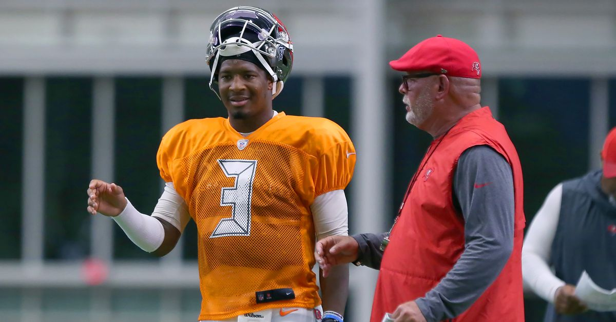 Bruce Arians passed on a question about Jameis Winston. Did it mean anything?