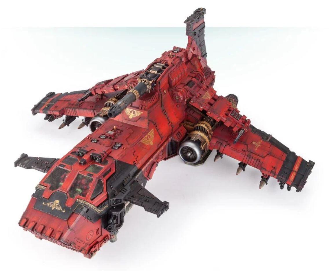 A Thunderhawk Gunship circa 2021.