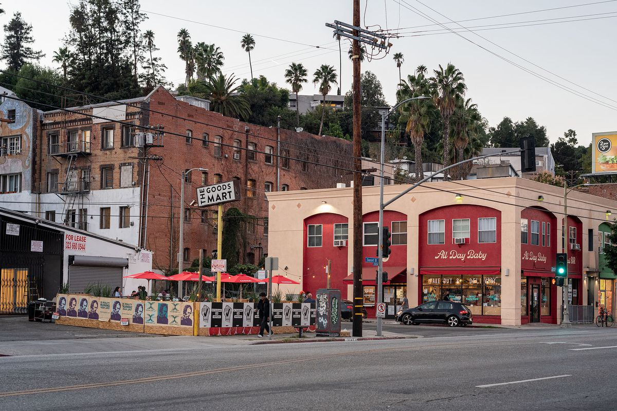 Helluva Time and All Day Baby restaurants in Silver Lake, California