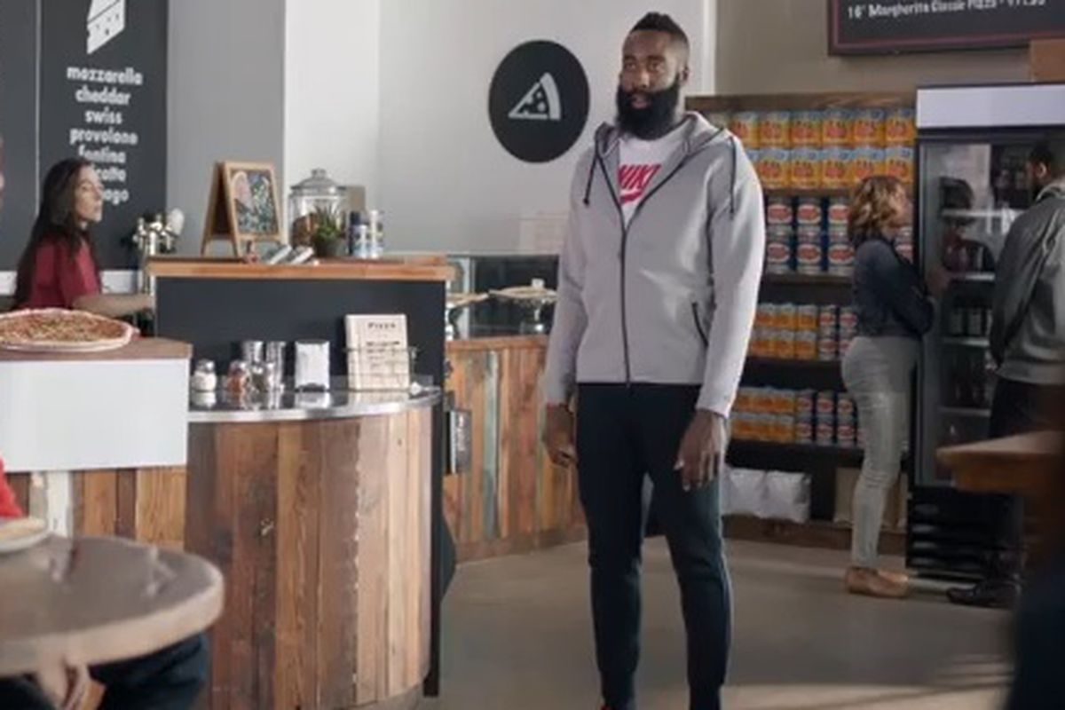 4c1abbbe44d0 Foot Locker Commerical With James Harden Released Today Starring Siphon  Coffee
