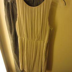 Theory pleated dress, $219