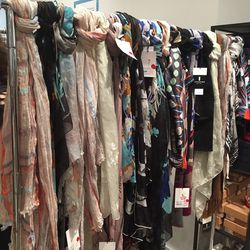 Women's scarves are 80% off