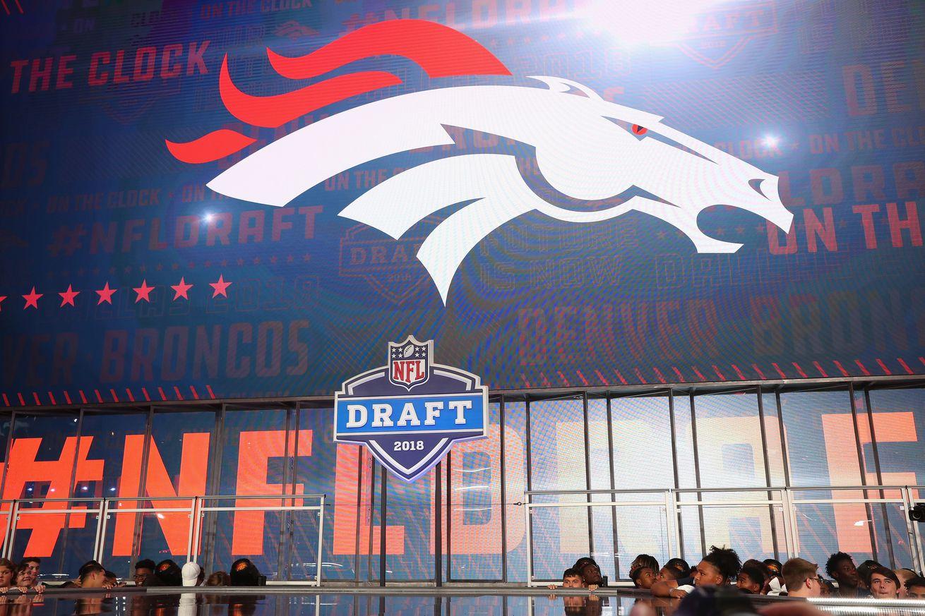 Updated 2019 NFL Draft order for the Denver Broncos