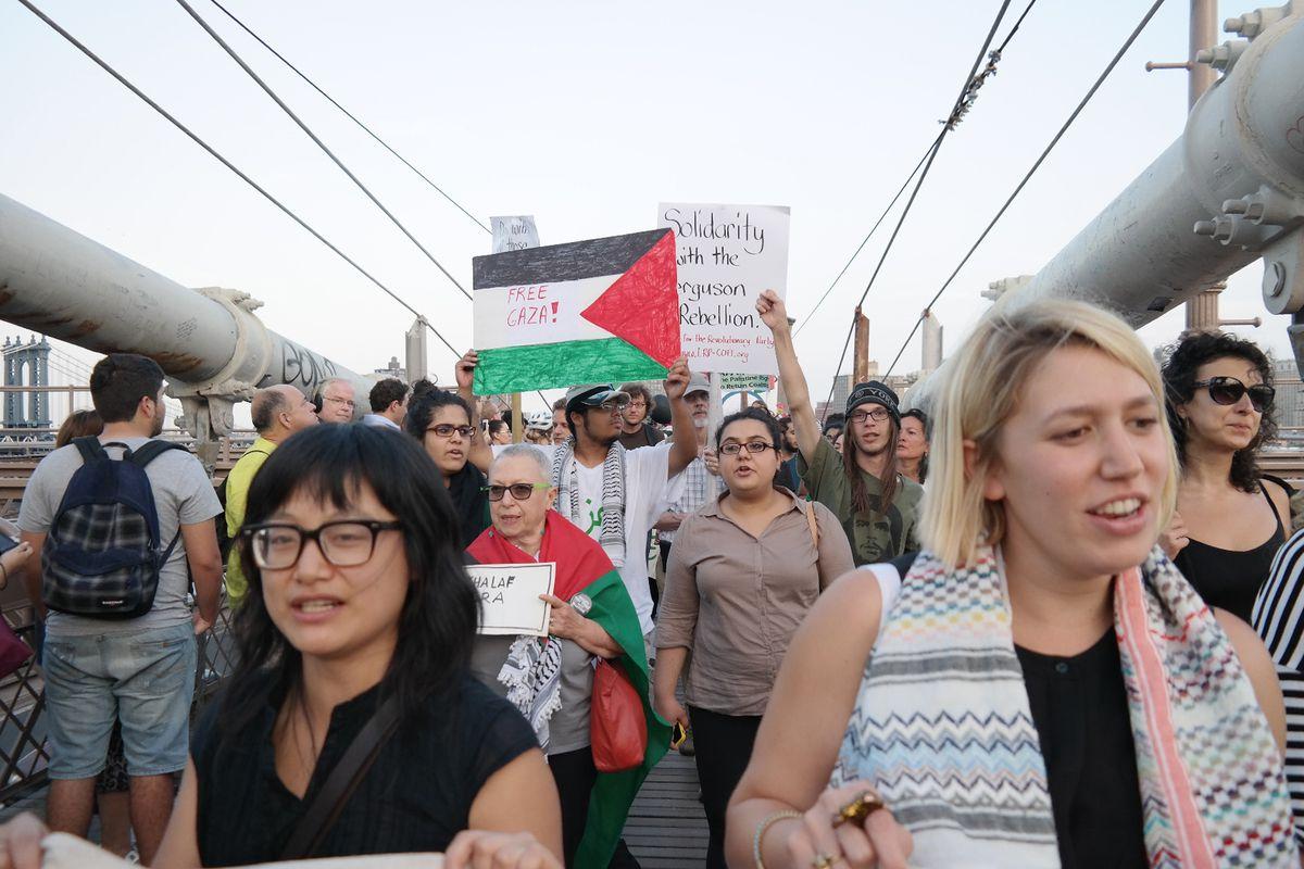 pro-palestinian demonstration new york