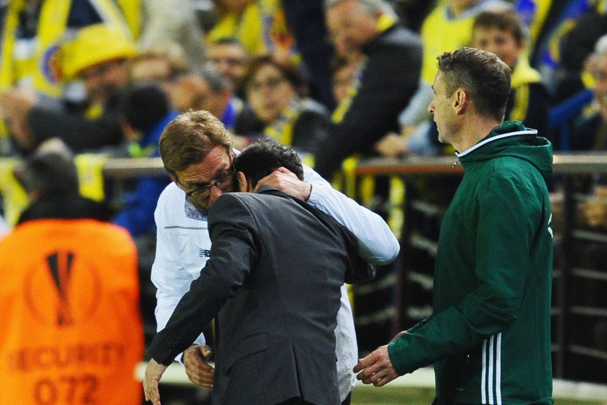 This was hilarious.  One of our assistants was upset about something, Marce and Klopp ended up embracing.  Two guys who always show you their emotions.