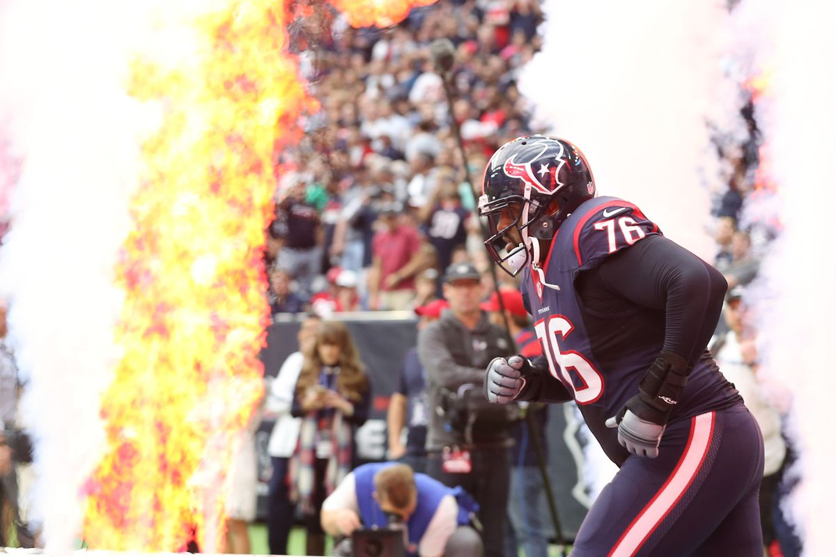 Duane Brown Reports to Houston Texans - Ends Holdout