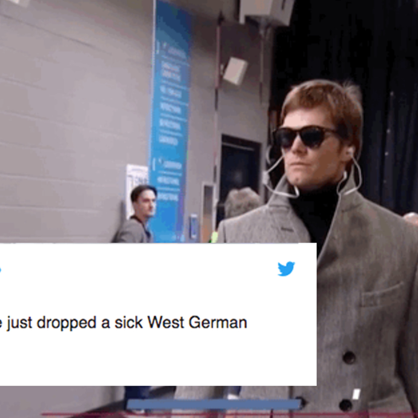 The 11 funniest tweets about Tom Brady s Super Bowl walk-in outfit -  SBNation.com 2a54e1a22