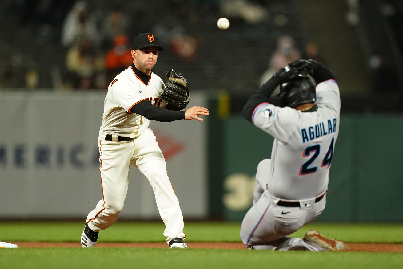 Miami Marlins v San Francisco Giants