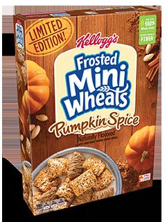 Kellogg's Pumpkin Spice Frosted Mini-Wheats