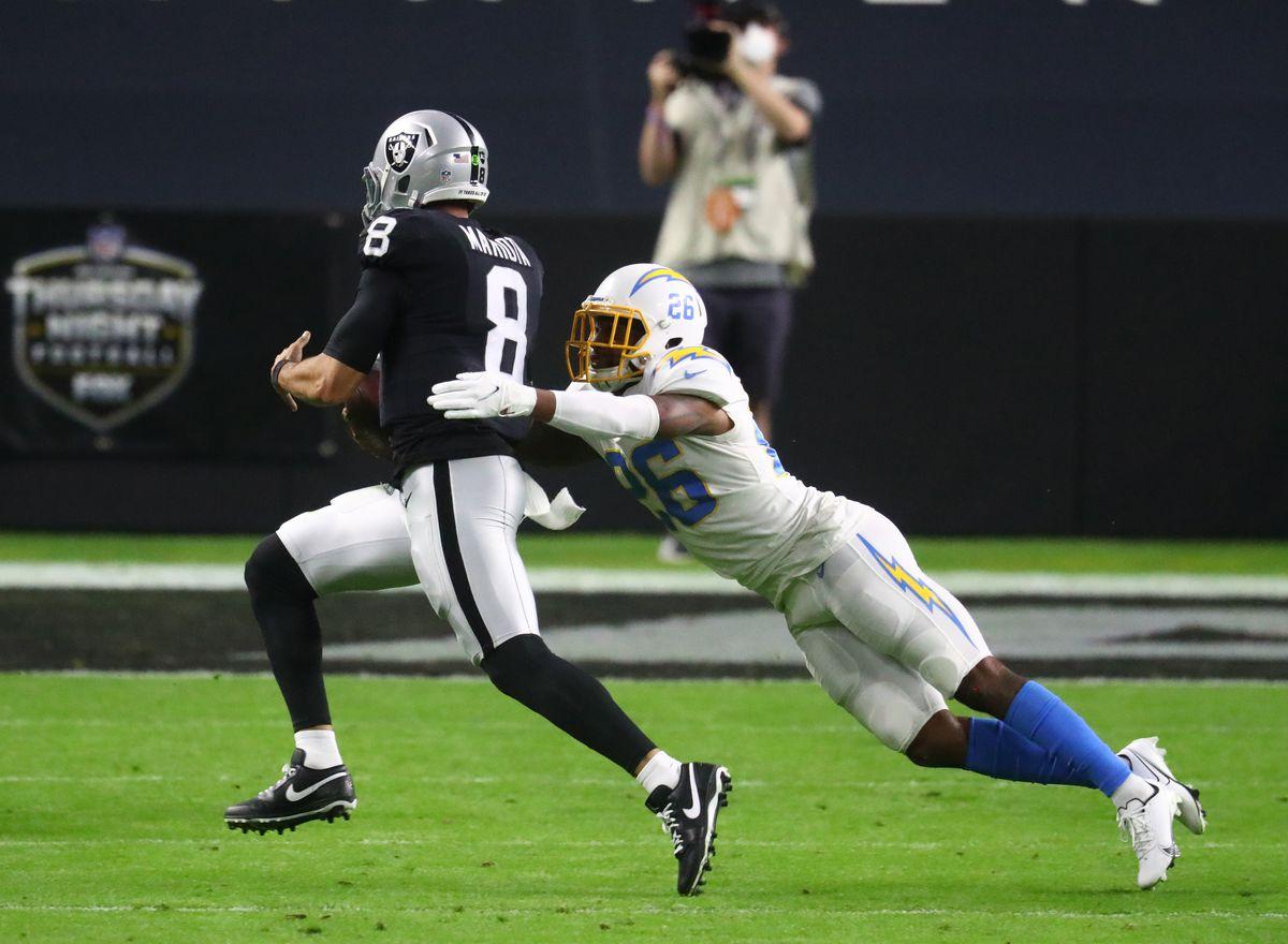 NFL: Los Angeles Chargers at Las Vegas Raiders