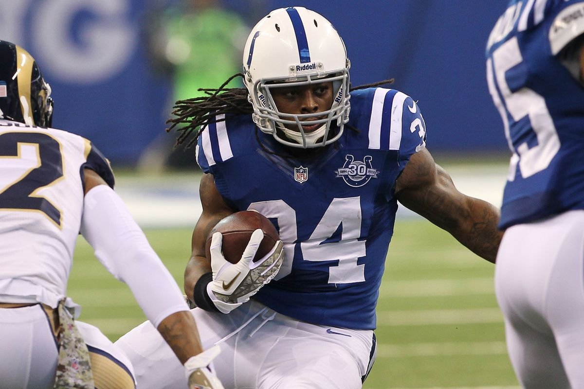 Trent Richardson has disappointed Fantasy Football owners this season