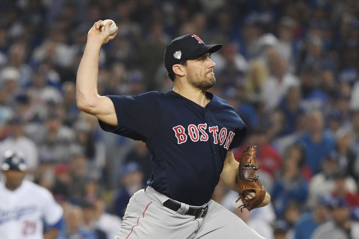 super popular b6052 47a2d 2018 Red Sox: Nathan Eovaldi - Over the Monster