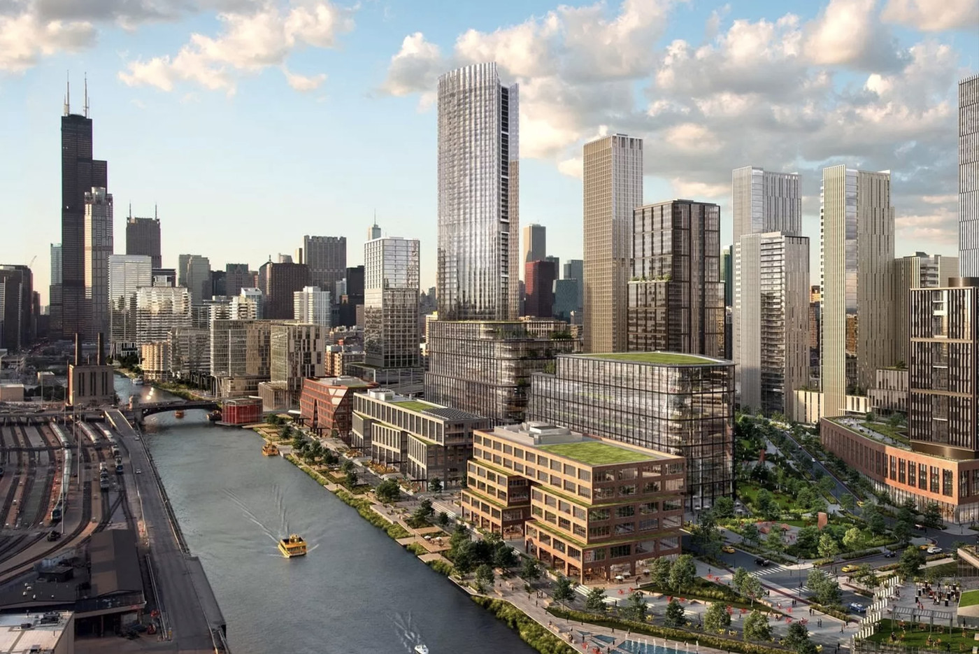 The new skyscrapers changing Chicago's skyline - Curbed Chicago
