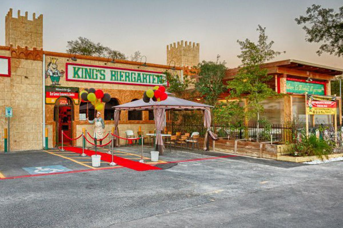 But Will The New Location Be A Castle King S Biergarten Facebook