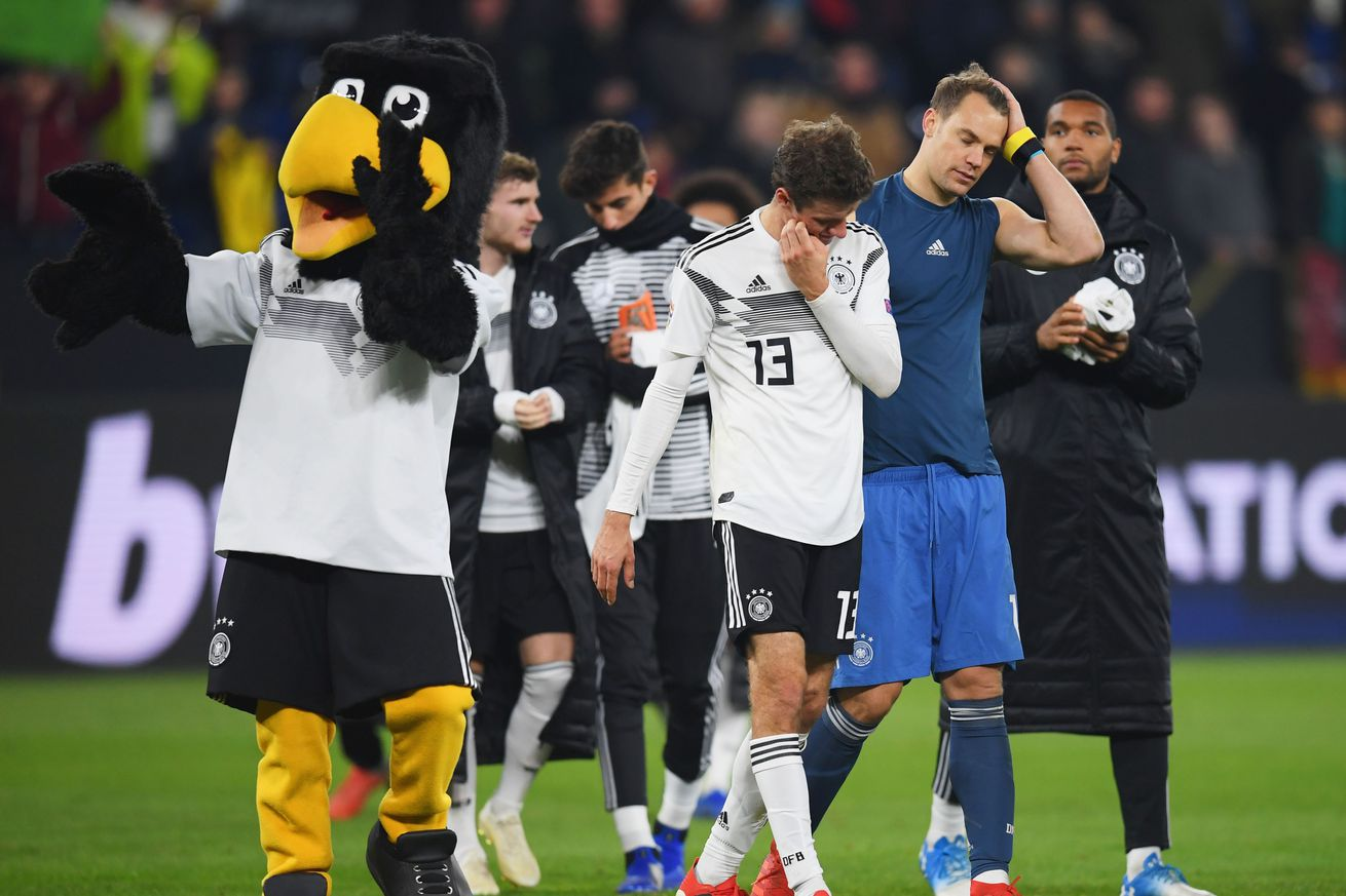 German internationals note lack of fan support, hope for better 2019