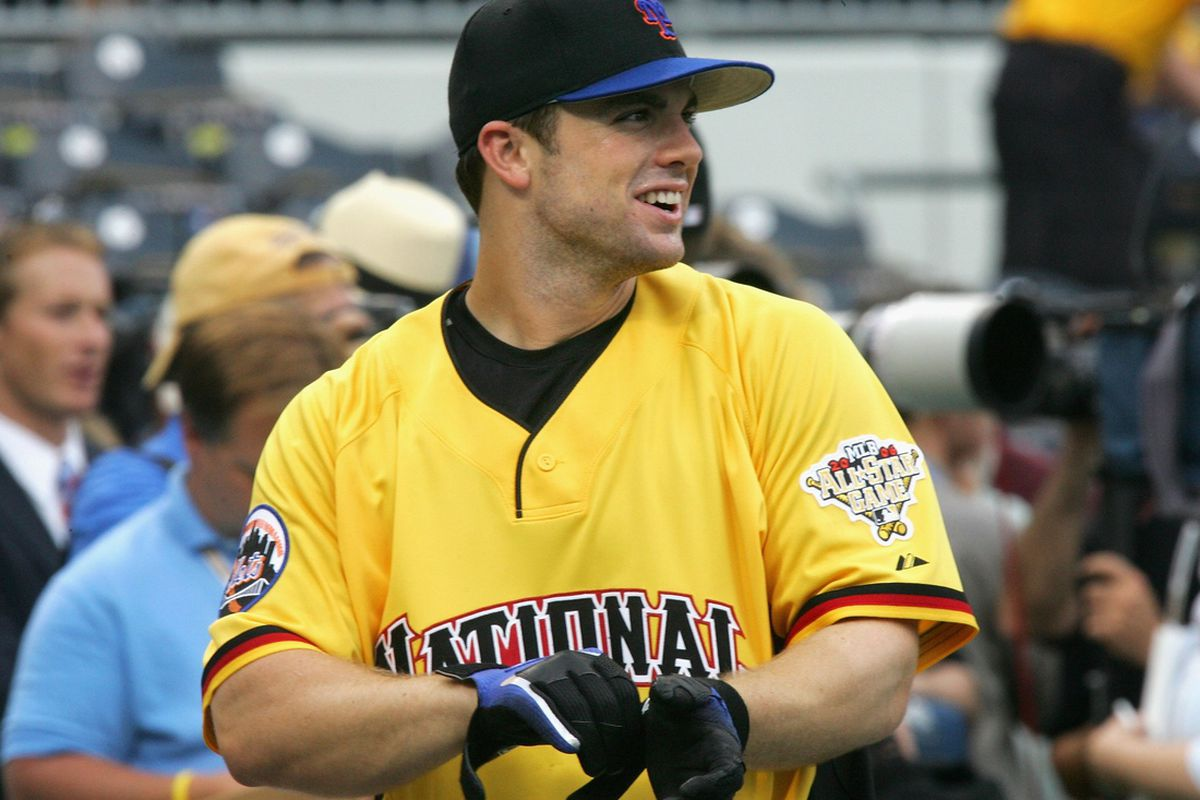 David Wright rocking the yellow jersey at the 2006 All-Star Game in Pittsburgh. (Jim McIsaac/Getty Images)